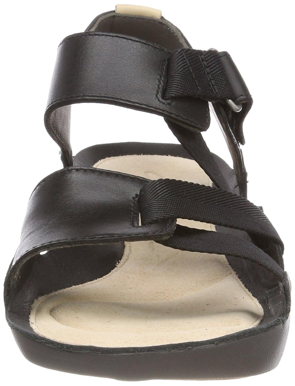 Clarks Damen Tri Clover Slingback Slingback Clover Sandalen Schwarz (schwarz Combi) 6c2682