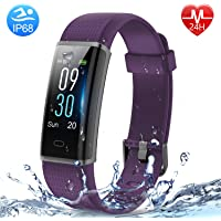 HolyHigh Smart Fitness Band,Fitness Tracker Watches for Men Women Kids Unisex Sports Activity Tracker Watch Step Counter Calories Burned Sleep Monitor SMS Call Reminder Camera Shoot