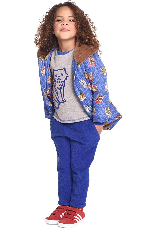 Bleu 6 ans Room Seven - Manteau imperméable - Parka - Fille Bleu Bleu 92 cm