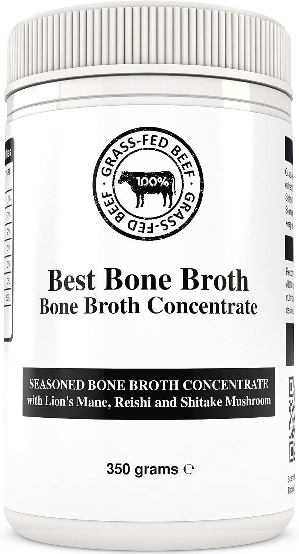 BONE BROTH Caldo concentrado de hueso bovino de calidad premium con seta - proveniente de ganado 100% australiano, criado en libertad y alimentado a ...