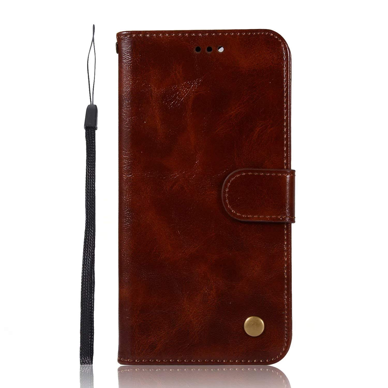 Housse Coque Protecteur Clapet Portefeuille Cuir PU Portefeuille TPU Silicone Case avec Fentes et Support de Carte Samsung Galaxy A40 Coque pour Samsung Galaxy A40