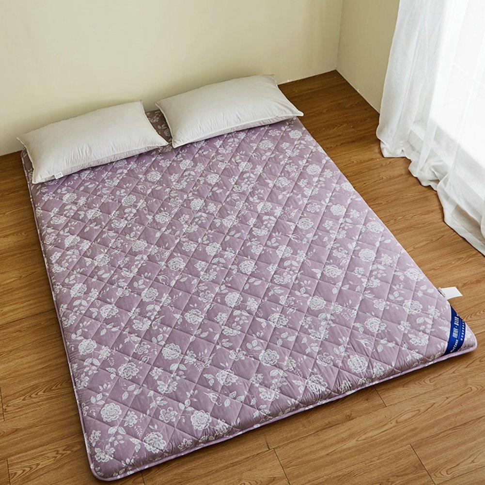 DHWJ Cotton,Folding,Thickening, Student mat Tatami mattress-B 150x200cm(59x79inch)