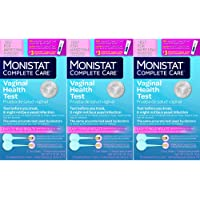 Monistat Care Vaginal Health Test | 2 Test Swabs | Pack of 3 Boxes | Test for Yeast Infection
