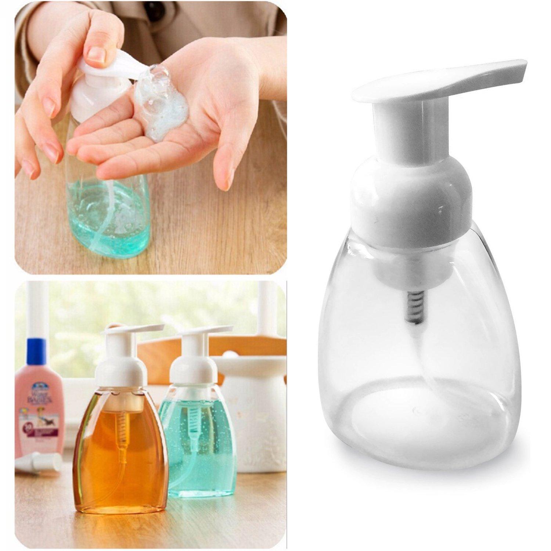 Espuma dispensador de jabón líquido jabón de manos Bomba Botellas Recipientes para cocina o baño, BPA libre 250 ml (-) : Amazon.es: Hogar