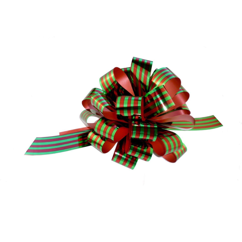 Red and Green Christmas Ribbon: Amazon.com