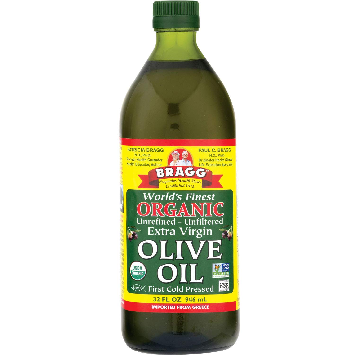 Bragg Organic Extra Virgin Olive Oil 32oz