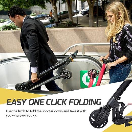Swagtron Swagger Pro - Patinete eléctrico para adultos, con ...