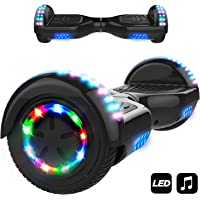 """MARKBOARD Hoverboard A8 Self Balanced Electric Scooter - 6.5"""" Skateboard -built in Bluetooth Speakers - LED Wheel"""