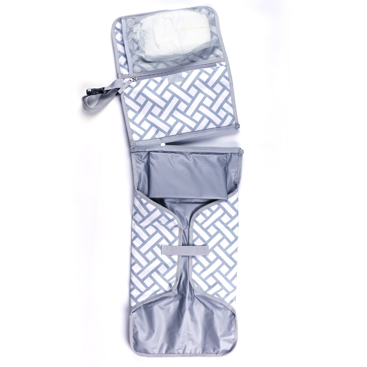 Baby Changing Pad By Boutique Baby Portable Diaper Changing Pad Station Waterproof Extra Long  Travel Clutch by Boutique Baby (Image #3)