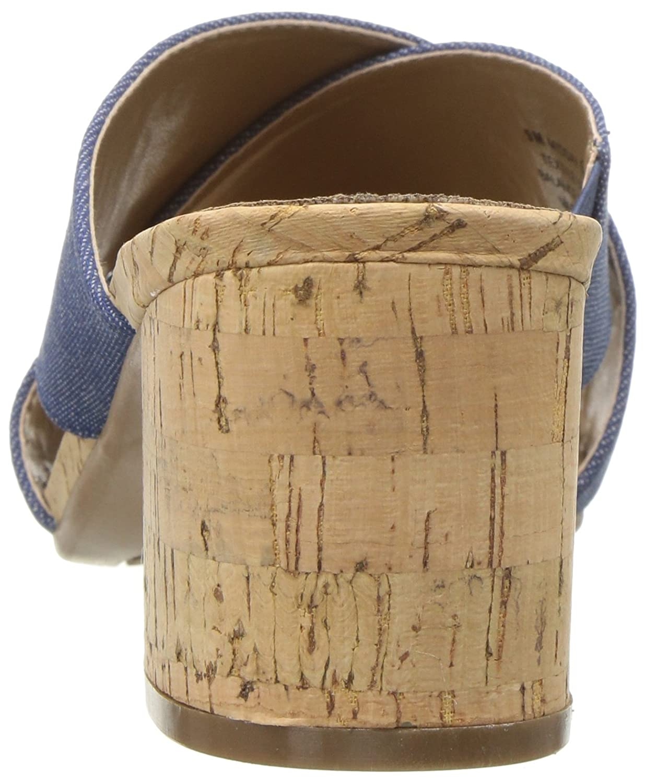 Aerosoles Women's Midday W Slide Sandal B076HY84K7 11 W Midday US|Denim Fabric 8119d9