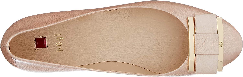 5 UK H/ÖGL Womens Harmony Closed Toe Ballet Flats Red Salmon 4400