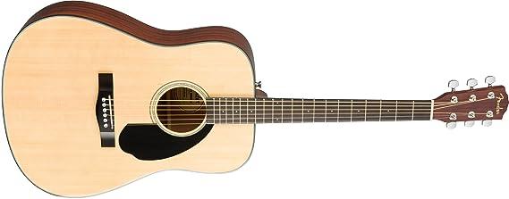 Fender CD-60S Natural Guitarra acústica: Amazon.es: Instrumentos musicales