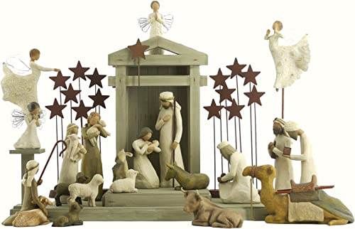 24 Pc. Willow Tree Nativity Package