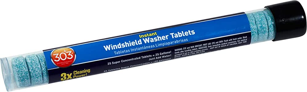 303 (230371) Instant Windshield Washer, 25 Tablet