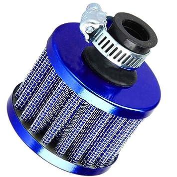 censhaorme 13 mm Filtro de Aire frío del Coche Motor Turbo Vent del respiradero del cárter