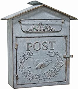 CWI Gifts Birdhouse Mail Box, 12 1/2