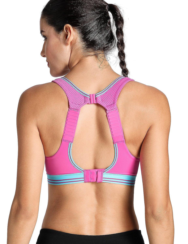 La Isla - Sujetador Deportivo de Running Para Mujer Rosa 105C ...