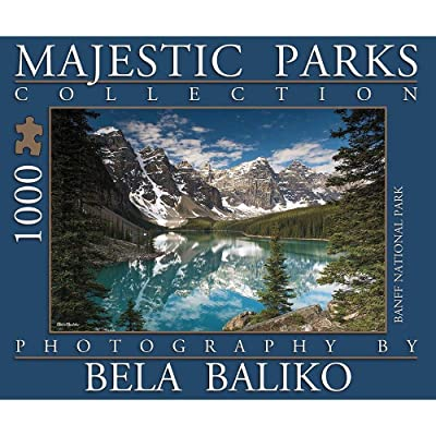 Majestic Parks Collection Banff National Park 1000 Piece Puzzle: Toys & Games