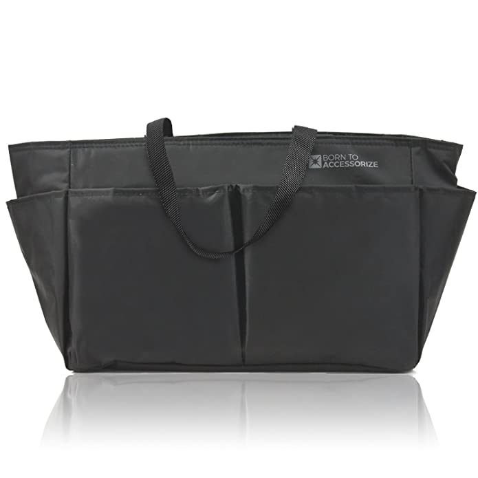 b0ba3aa5531f Amazon.com: Premium Purse Organizer Insert - Perfect Bag Organizer for  Large Tote & Handbag - Keep Everything Neat & Accessible (LV-L-BLK): Shoes