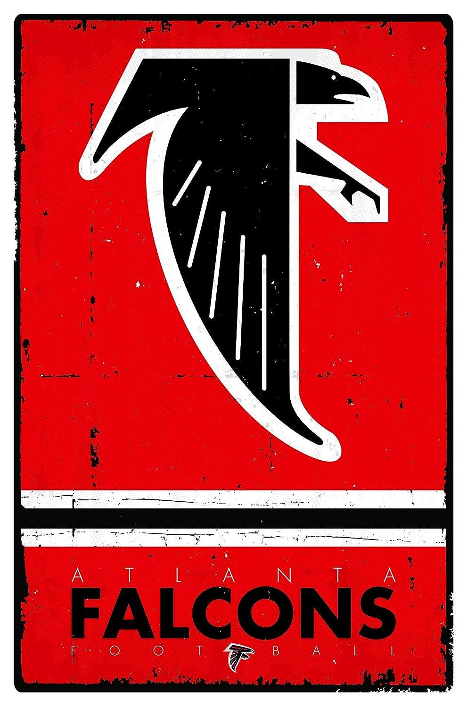 Amazon trends international atlanta falcons retro logo wall amazon trends international atlanta falcons retro logo wall poster 22375 x 34 home kitchen voltagebd Choice Image