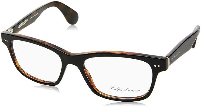 Ralph Lauren 0Rl6153P, Monturas de Gafas para Hombre, Black/Havana, 55