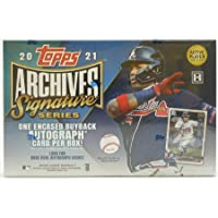 $109 » 2021 Topps Archives Signature Series MLB Baseball ACTIVE PLAYER EDITION box (one…