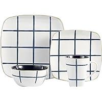 American Atelier Squares 16-Pc. Dinnerware Set