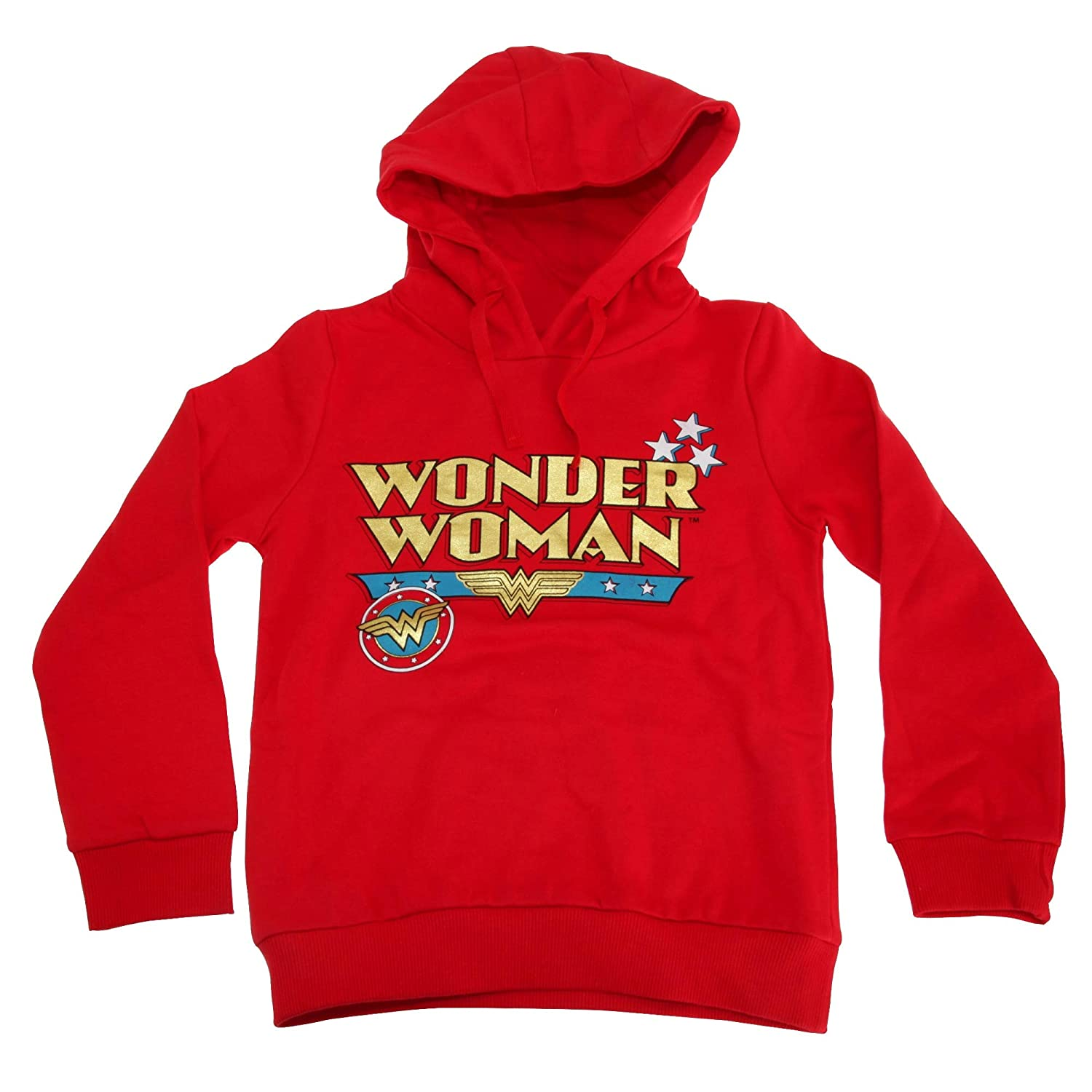 Wonder Woman Childrens Girls Logo Hoodie