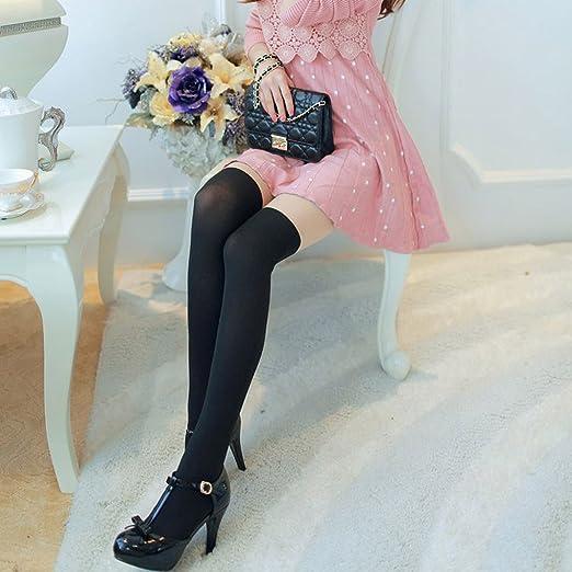4 opinioni per QHGstore Ginocchia donne Girl Autumn velluto sottile su lunghe Calze Collant