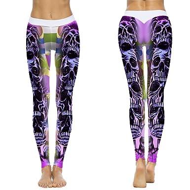 Leggings Deporte Mujer Mallas Fitness Impresión Mujer ...