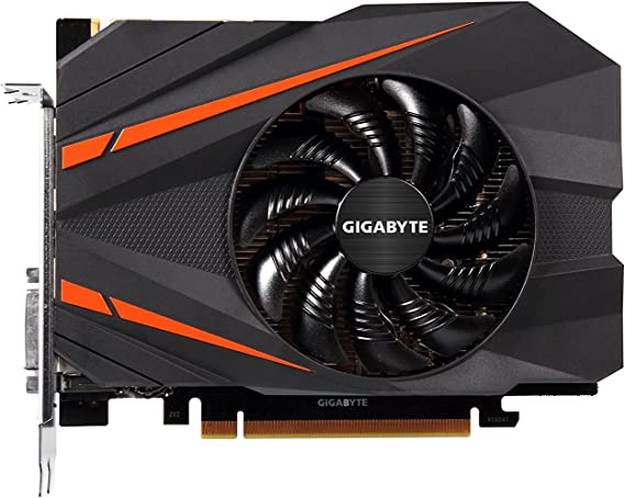 Gigabyte GeForce GTX 1080 Mini ITX 8G Graphic Cards (GV-N1080IX-8GD)