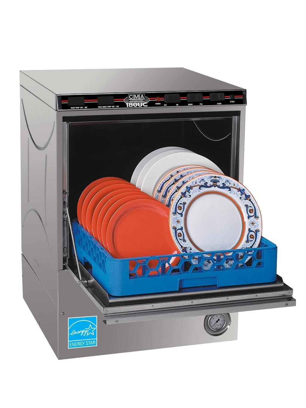 "24"" W High Temp Undercounter Dishwasher 30 Racks/Hour"