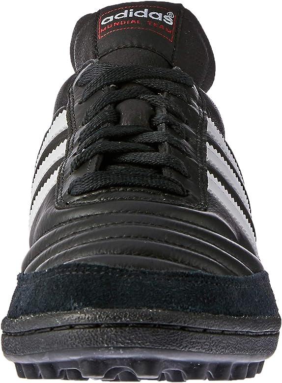 adidas Originals Mundial Team, Botas de fútbol para Hombre, Black/Running White FTW/Red, 40 EU: Amazon.es: Zapatos y complementos