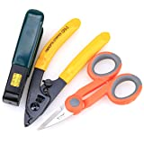 Optic Fiber Cable Cutter Stripper Scissors for