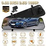 MKChung BERLIHEN V96B Car DVR Camera 1080P+1080P