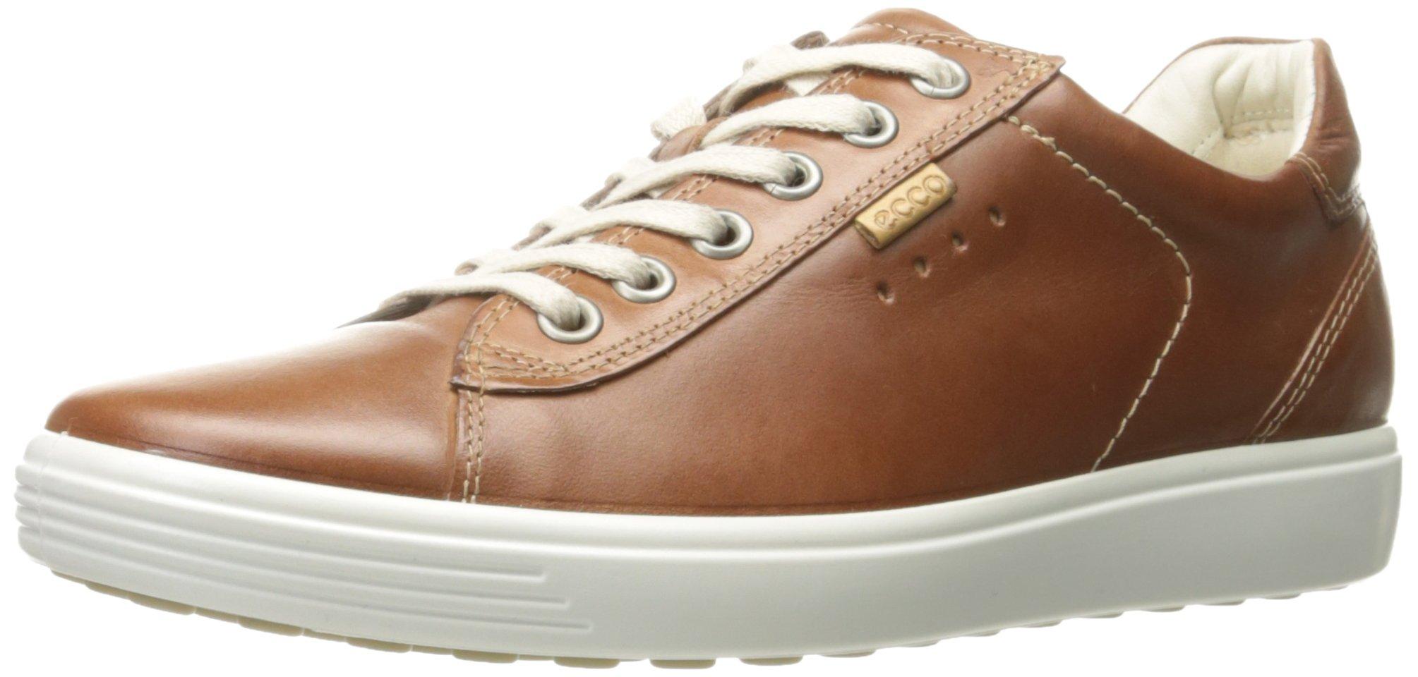 ECCO Women's Women's Soft Fashion Sneaker, Mahogany, 37 EU/6-6.5 M US