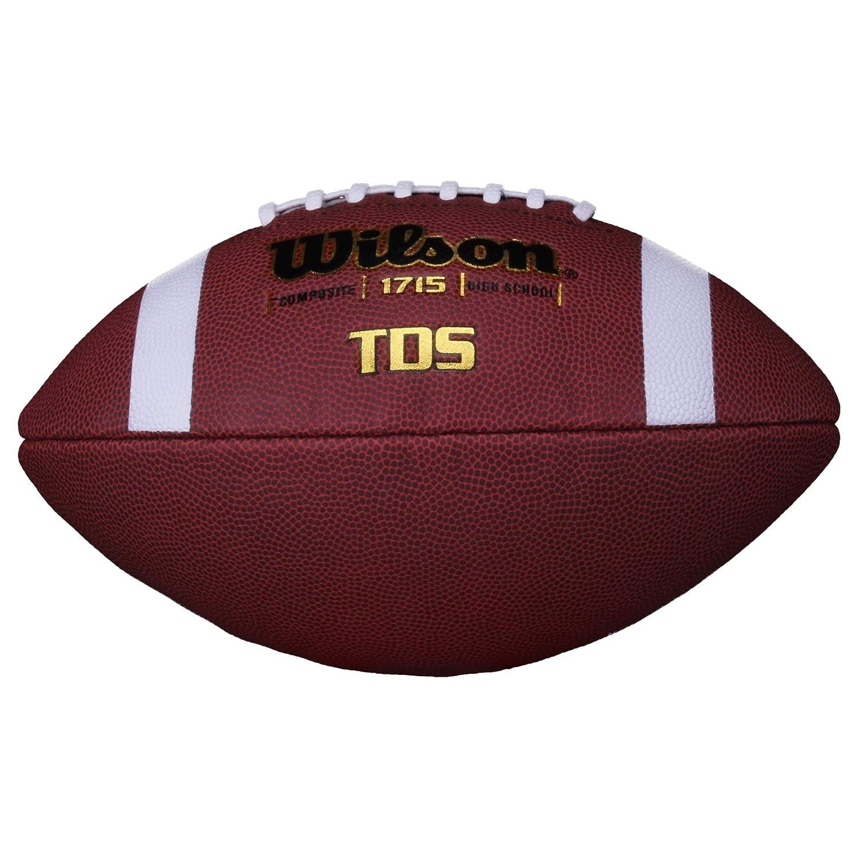 Pallone da football americano Wilson WL0206092041 TDS Senior colore Marrone