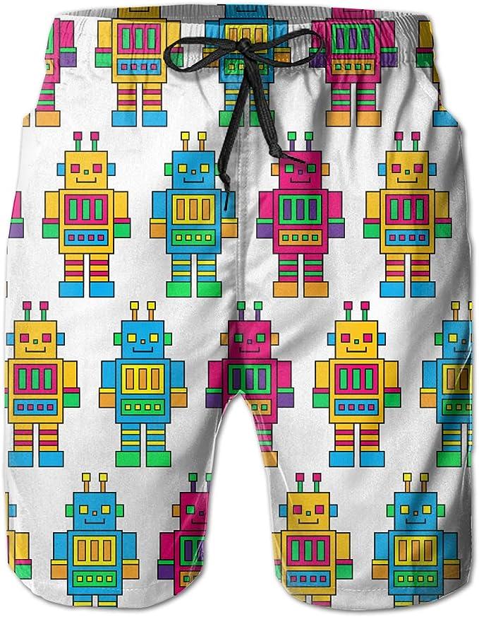 omniscient Mens Vintage Shorts Drawstring Zipper Pockets Elastic Waist 2 S