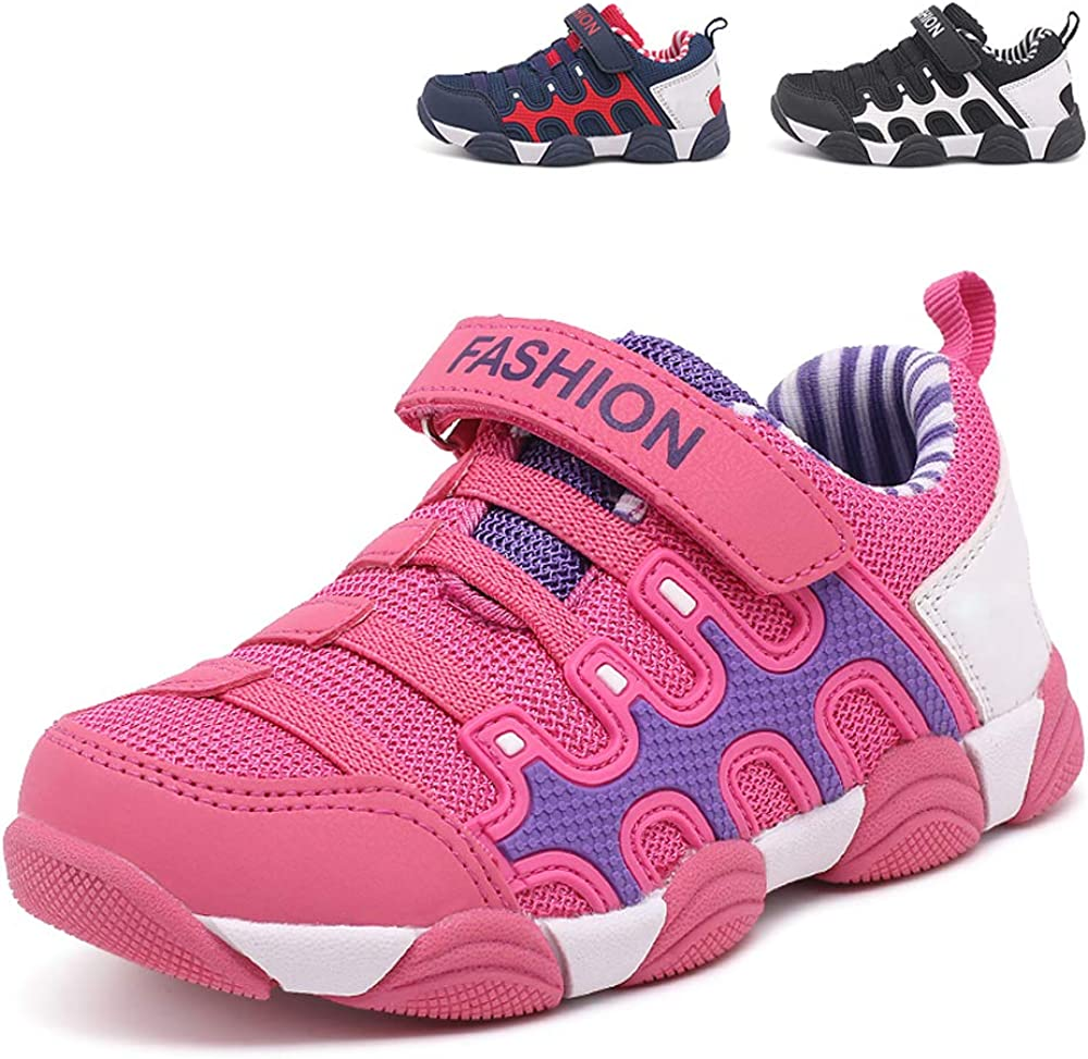 WUIWUIYU Little Big Boys Outdoors Professional Non-Slip Sports Shoes Trainers Sneakers