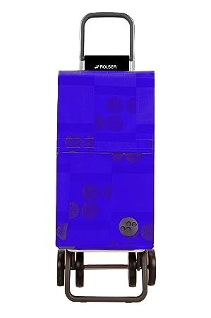 Rolser Paris Logos Dos+2 - Carro de la Compra de 4 Ruedas, Color Azul: Amazon.es: Hogar