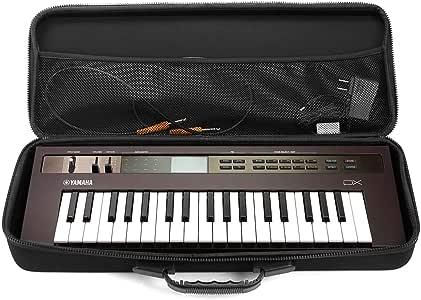 Analog Cases PULSE Case para Yamaha Reface o controladores midi comparables (estuche de transporte hecho de EVA/nylon moldeado duradero, con asa de goma robusta), Negro: Amazon.es: Instrumentos musicales