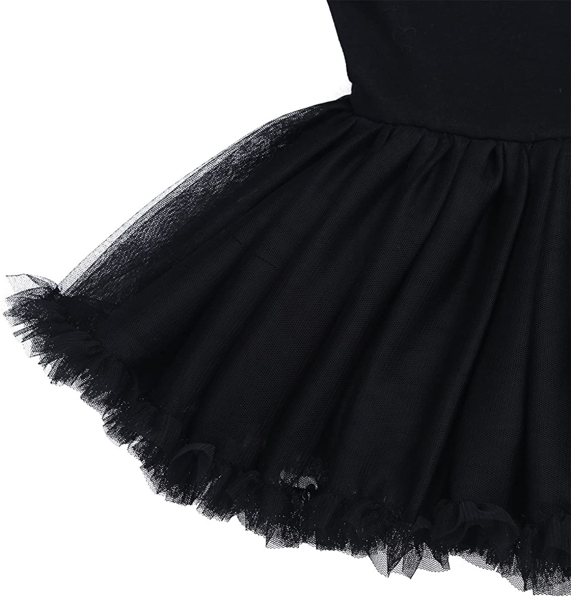 YiZYiF Vestido Ballet Tutú Algodón Niñas Maillot Danza Clásica ...