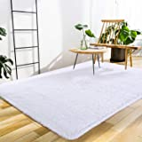 Softlife Soft Fluffy Area Rugs for Bedroom 4' x