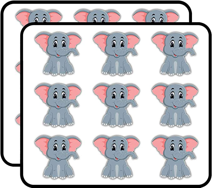 4Pcs Cartoon Cutting Felt Wall Sticker Animal Panda DIY Fabric Crafts Pad Decor