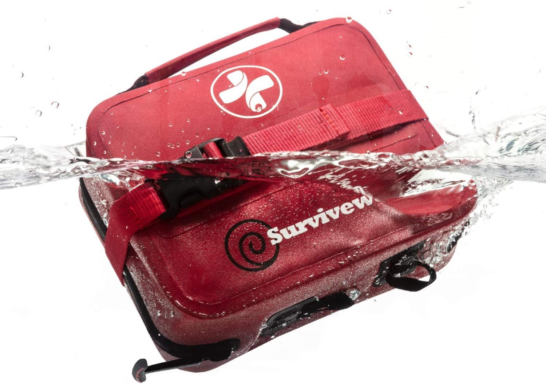 Surviveware Waterproof First Aid Kit