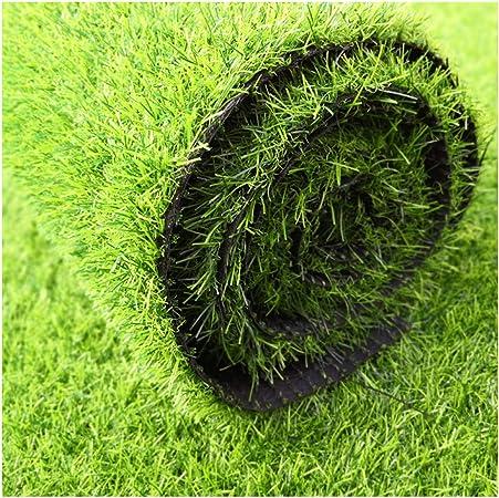 AQAWAS Cesped sintético Hierba Alfombra para el jardín, De Grosor 3 cm Alfombra De Cesped, Césped Artificial, Fácil De Limpiar, para Jardines Al Aire Libre,Green_2x6m/6x18ft: Amazon.es: Hogar
