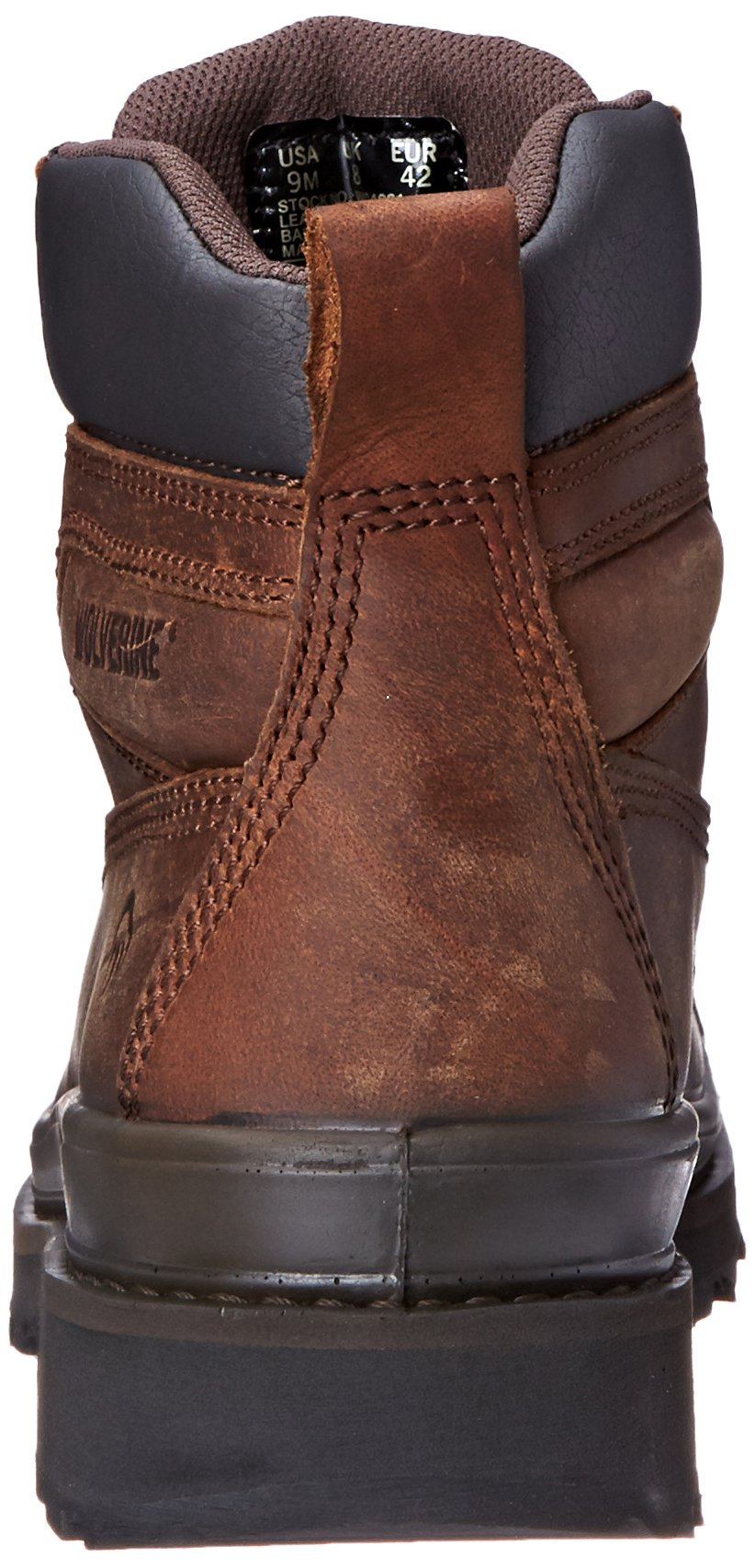 3875753839c Wolverine Mens Crawford Safety Leather Boot W04661