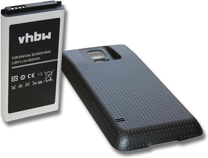 Batería EXTENDIDA vhbw 5600mAh para móvil Smartphone Samsung ...