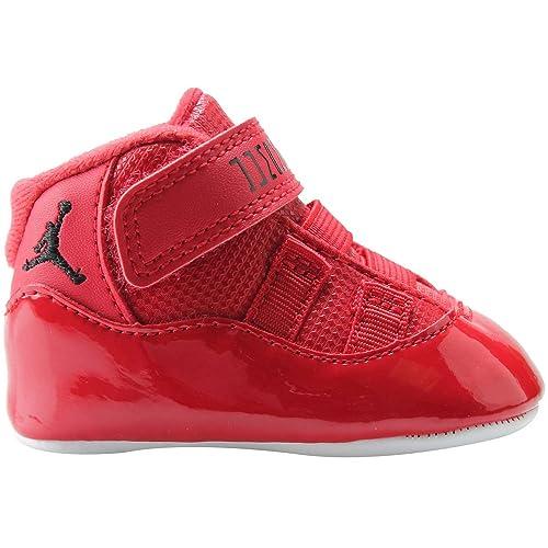 buy online abb7b a9191 Nike Kids Jordan 11 Retro Gift Pack Red 378049-623 (Size: 3C ...