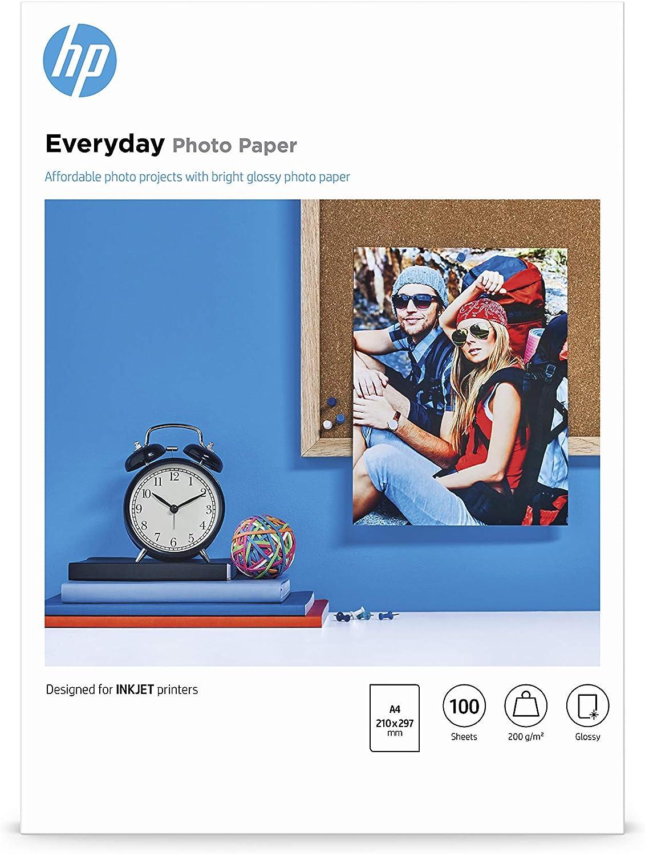 Hp carta fotografica lucida hp everyday q2510a